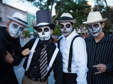Carnival of the Day of the Dead, Aguacalientes, Mexico.