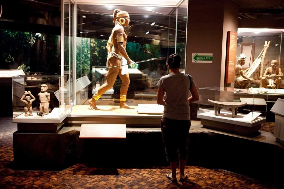 Exibits, Museo de Oro, gold museum, San Jose, Costa Rica