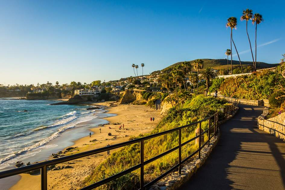 Laguna Beach, so cool they made a TV show about it.