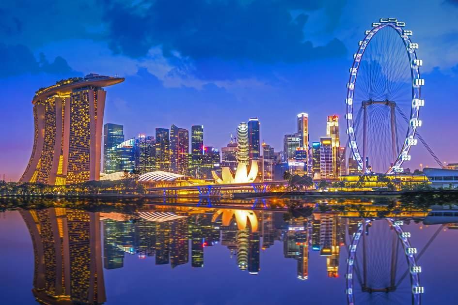 Singapore's dazzling skyline