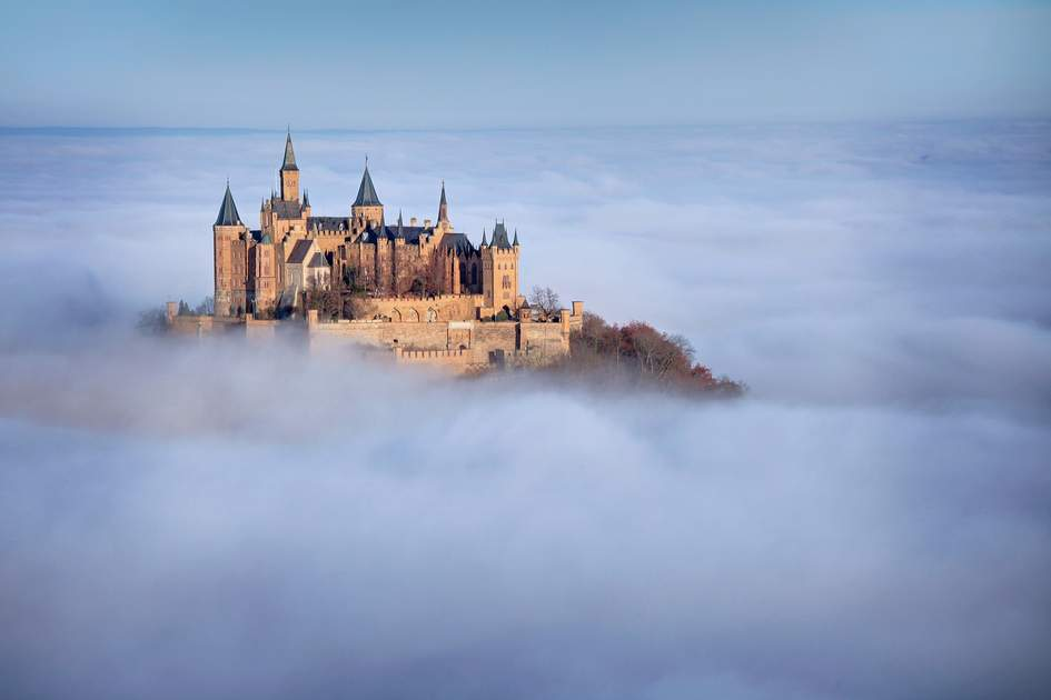 Caslte Hohenzollern in Germany