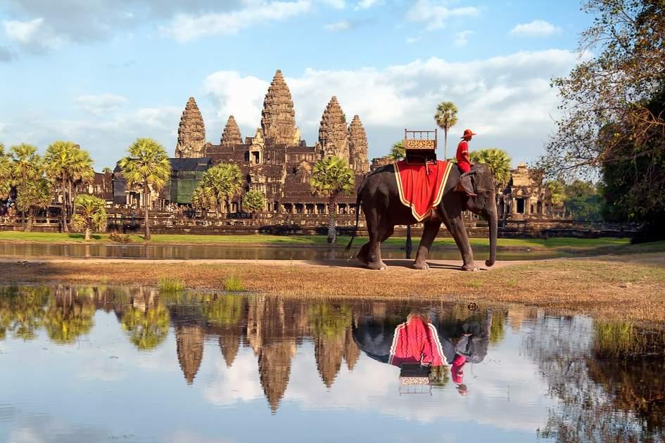 Cambodia, Siem Reap, Angkor wat