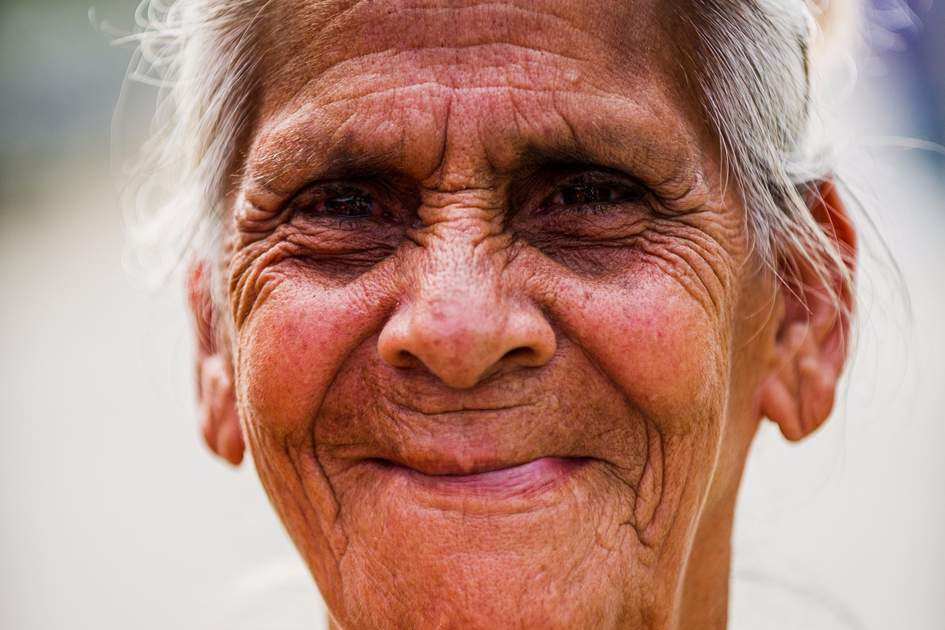Costa Rican smiling woman