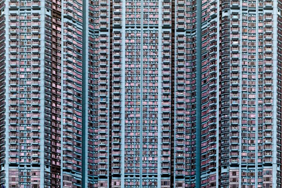 Crowded living in Hong Kong
