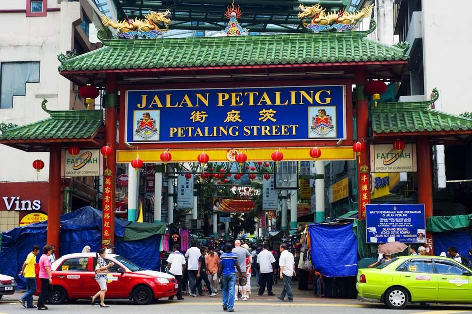 Bustling Petaling Street, Kuala Lumpur