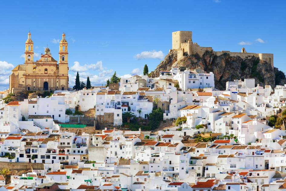 The town of Olvera in Cádiz, Southern Spain. Photo: Shutterstock