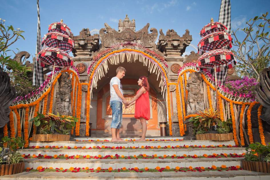 Bali is easily one of the most romantic places in the world.