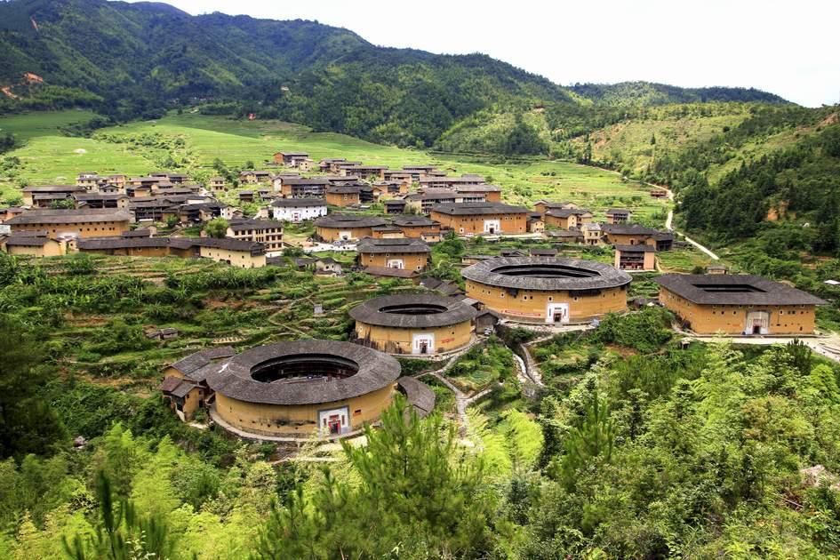 Hakka roundhouse, Fujian Province, southeastern China