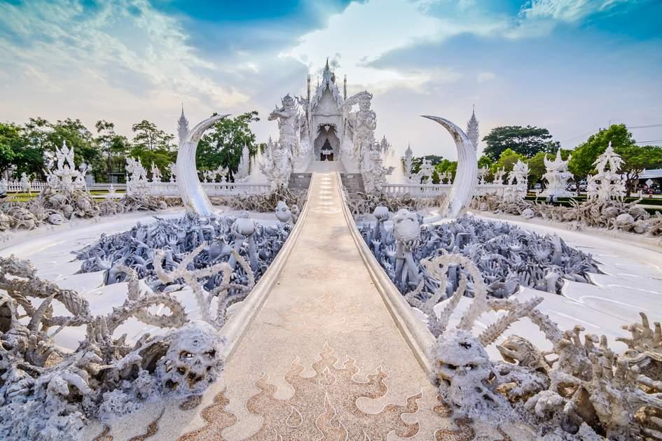 Wat Rong Khun, Thailand's Golden Triangle