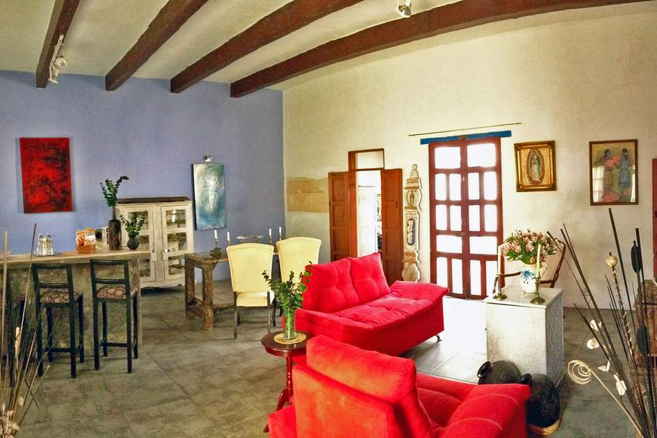 Boutique hotels in Mexico: Hotel Mesón Sacristía