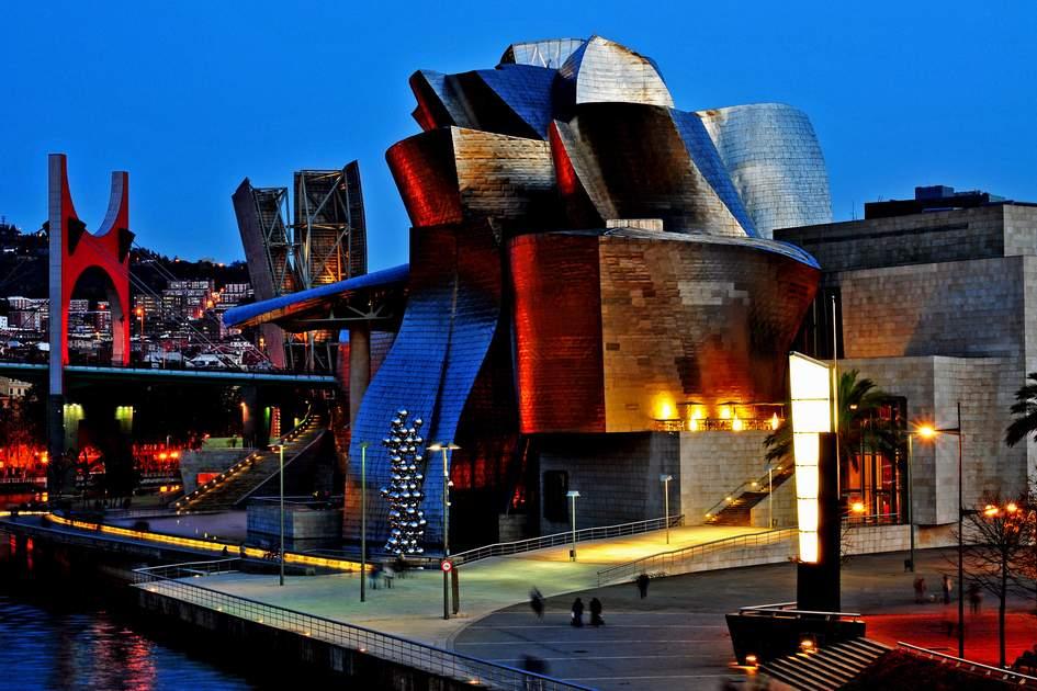 The Guggenheim Museum, Bilbao, Spain. Photo: Shutterstock