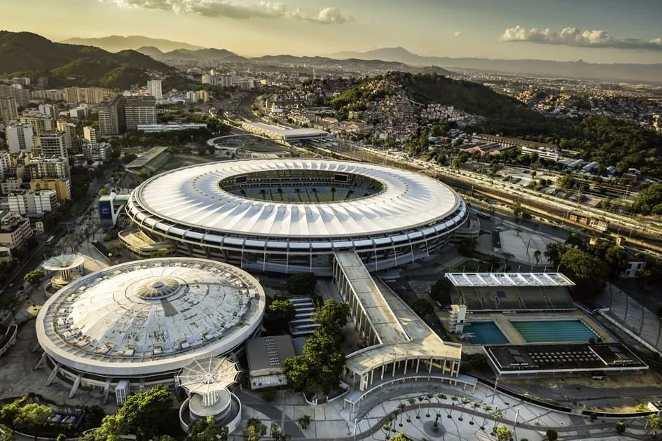The Maracana Stadium, Rio De Janeiro.