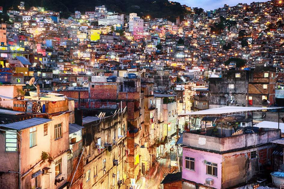 Rocinha is the largest favela in Brazil