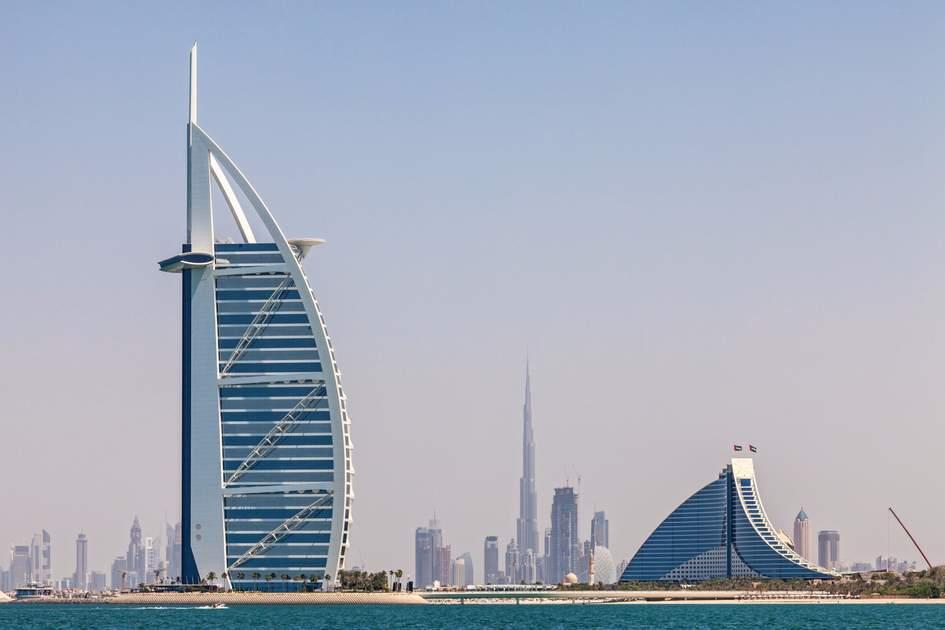 Dubai's modern skyline