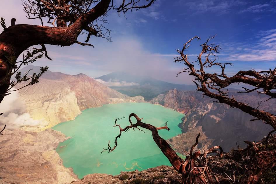 Kawah Ijen, Volcano Ijen, Java