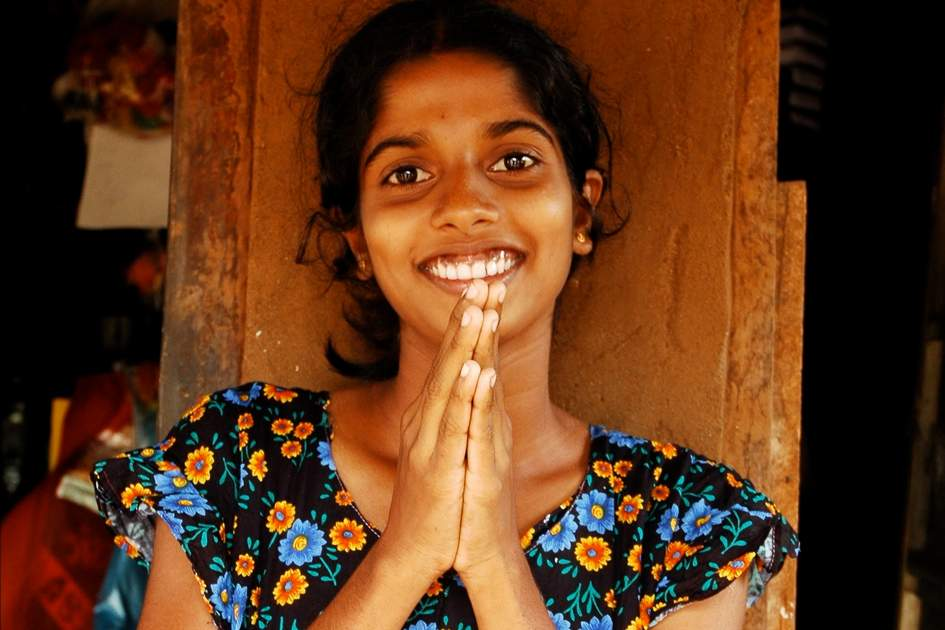 Sri Lankan greetings.