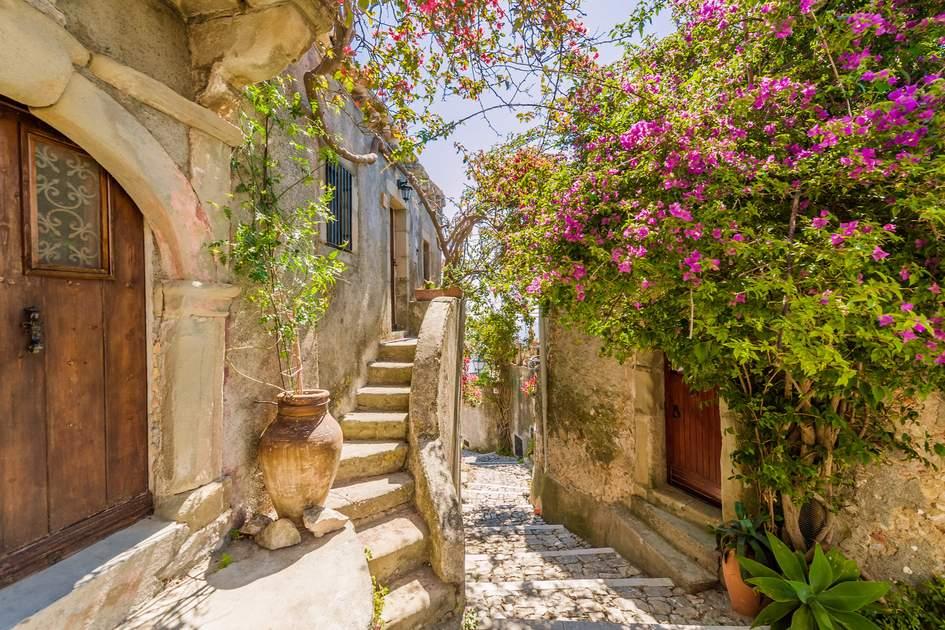 The Old Town, Lipari, Sicily