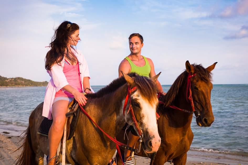 Costa Rican honeymoon.