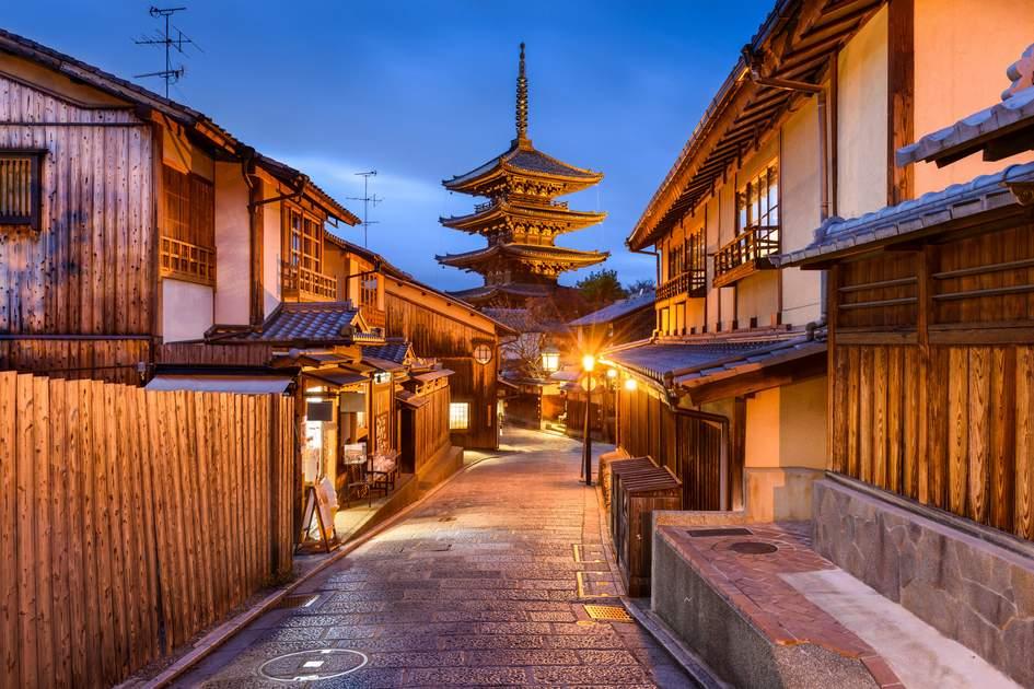 Yasaka Pagoda, Kyoto, Japan