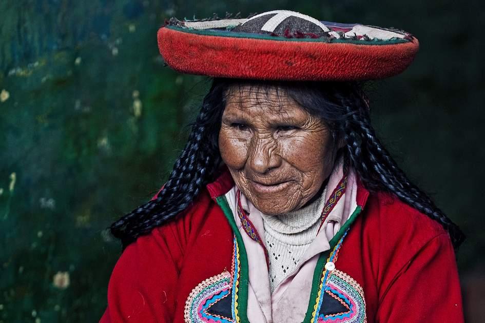 A Quechua woman, Cusco, Peru