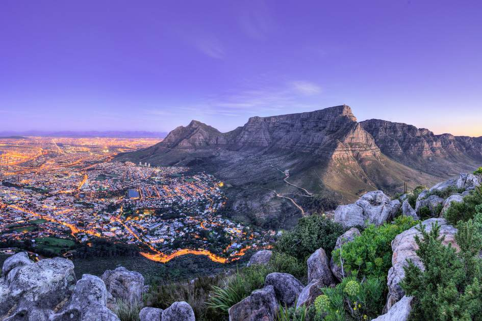 Table Mountain, Lion's head and Twelve Apostles are popular hiking destinations for both locals and tourists all year round