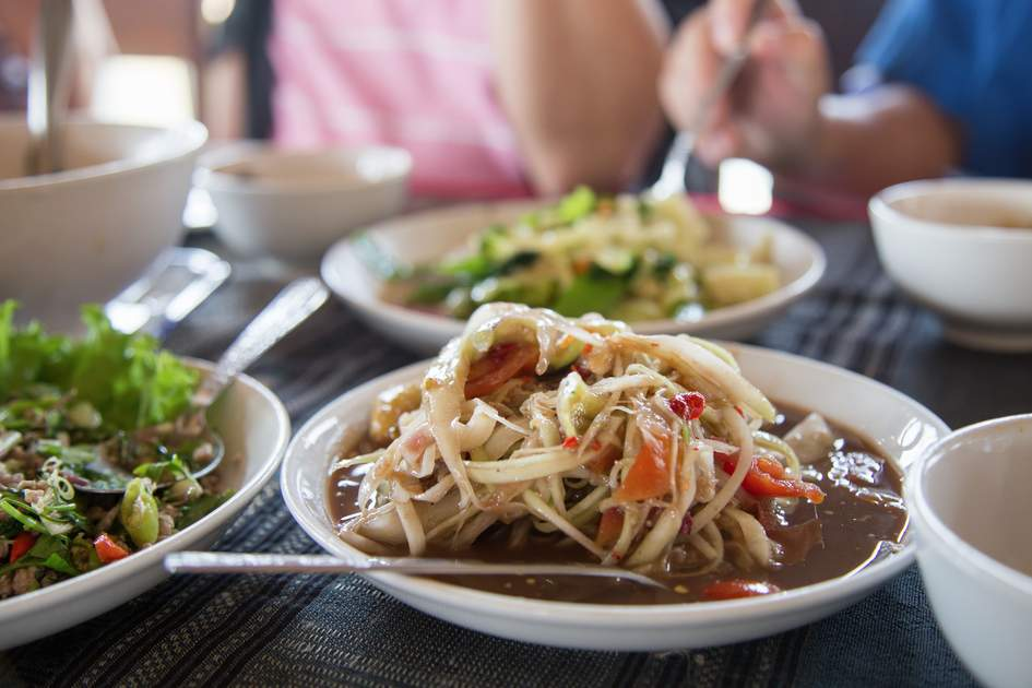 Food in Luang Prabang can be as fragrant and flavourful as nearby SE Asian destinations