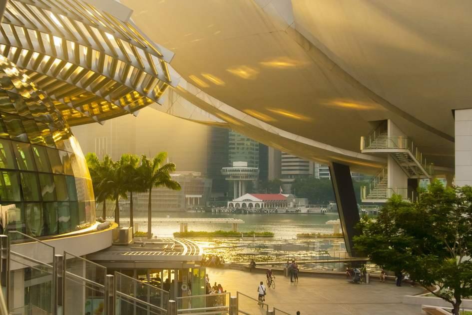 Glitzy Marina Bay, Singapore