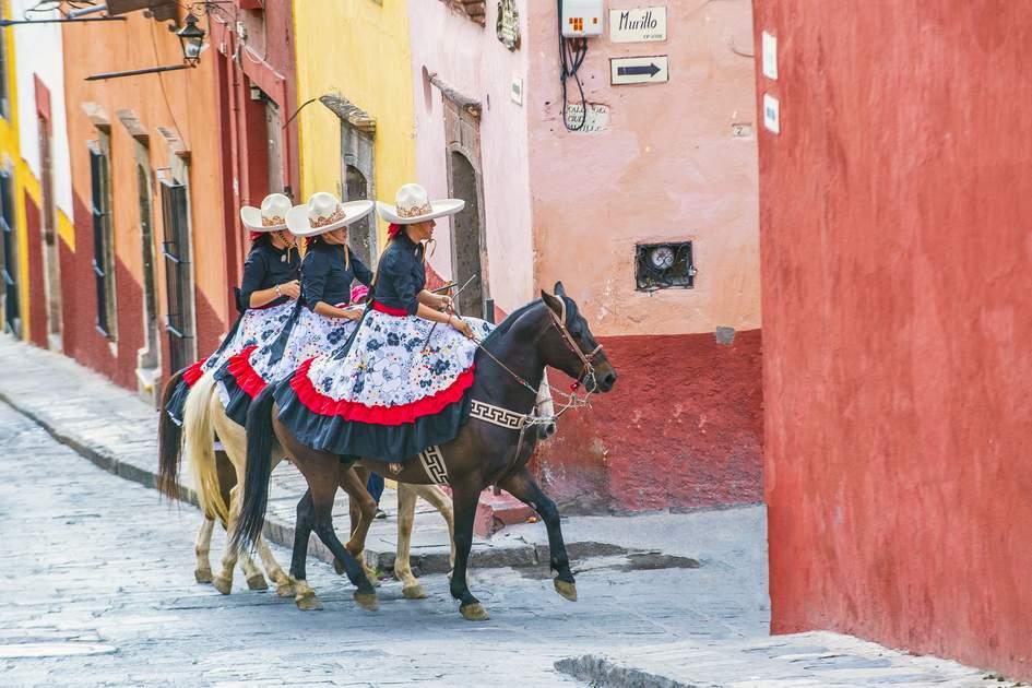 Three charros, San Miguel de Allende , Mexico