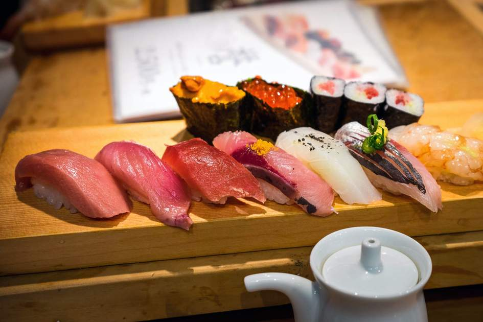 Sushi from Tokyo's Tsukiji Fish Market. Photo: Shutterstock