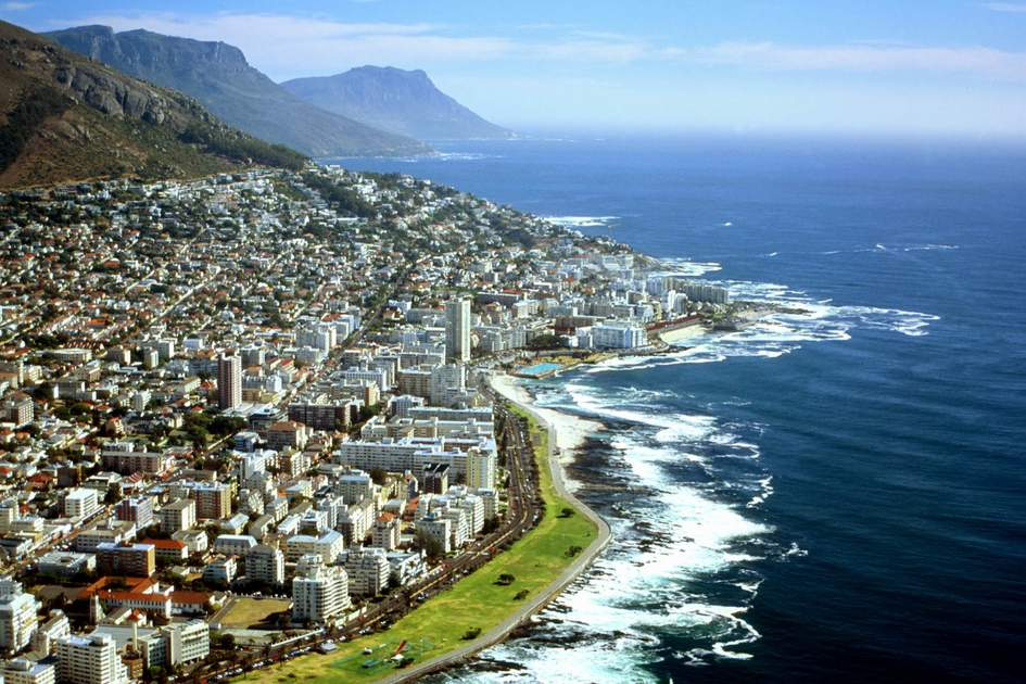 Aerial view of Cape Town. Photo: Shutterstock