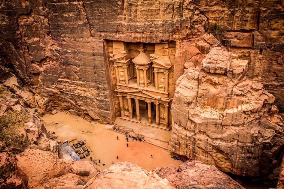 Petra, Jordan. Photo: Shutterstock