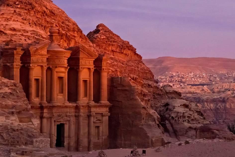 Ad Deir, Petra, Jordan.