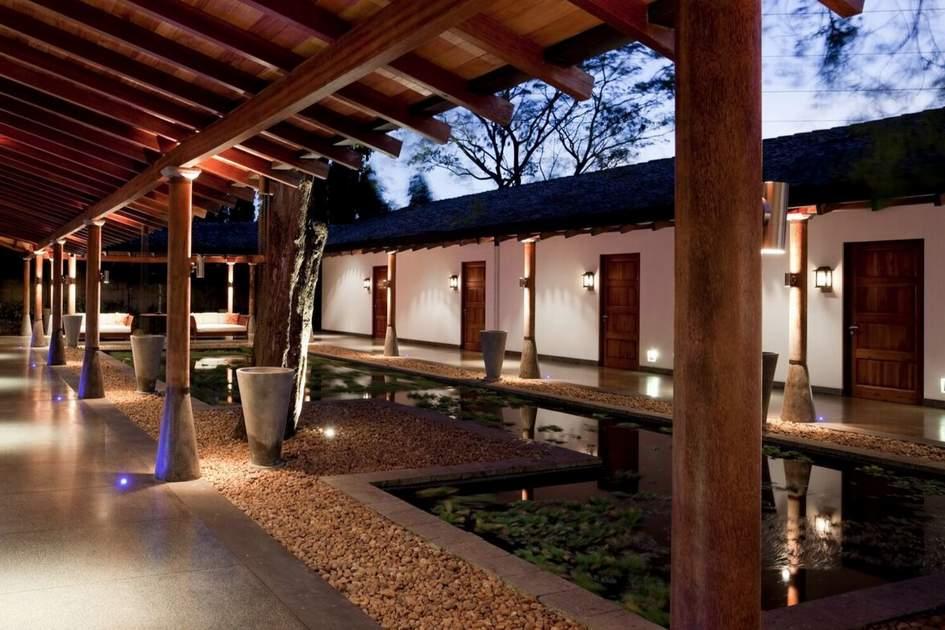 The Wallawa Courtyard