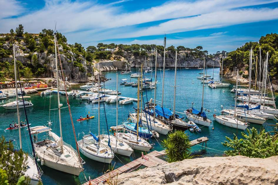 Calanques in France. Photo: Shutterstock