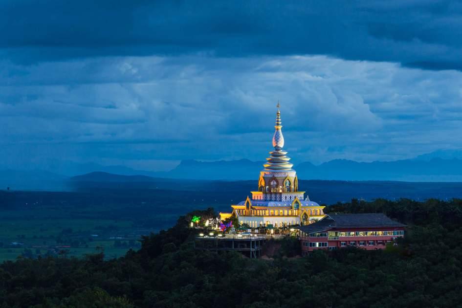 Wat Tha Ton temple in Chiang Rai province , Thailand