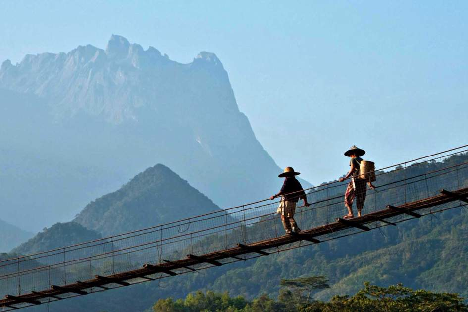 In the shadow of Mount Kinabalu, Malaysia