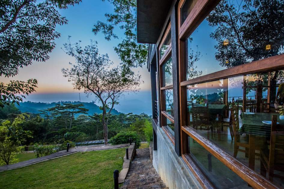 The rooms at Melheim Resort are all home to wild views