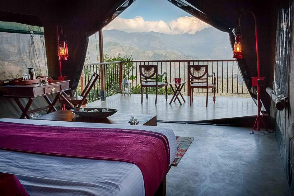 Lodges at Madulkelle Tea & Eco Resort are luxury and get you back to nature