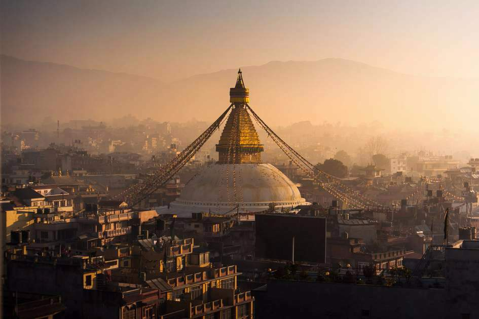 Boudhanath is the largest stupa in Nepal and one of the most flourishing centres of Tibetan Buddhism in the world