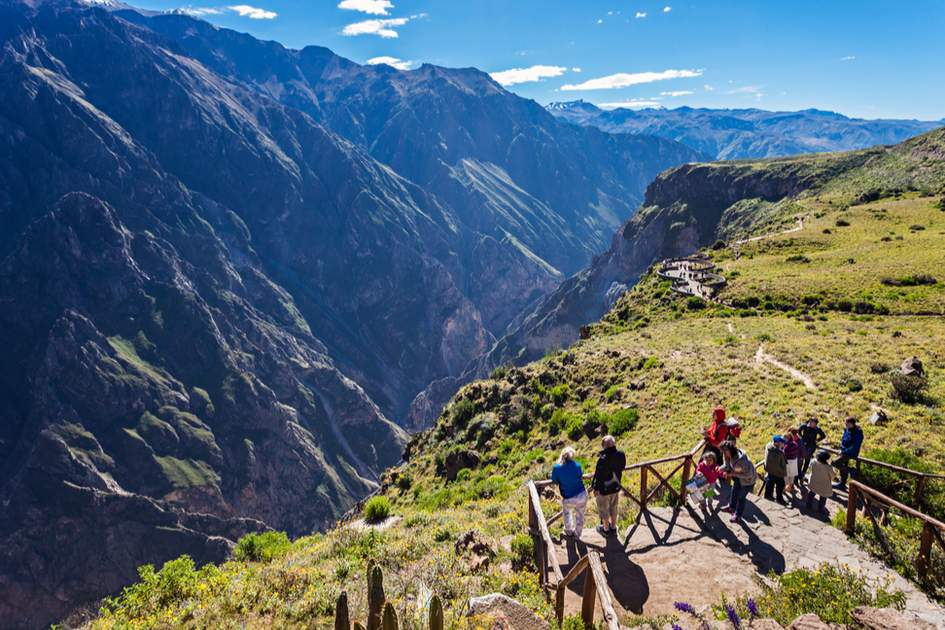 Colca Canyon is a must-see on your trip to Peru