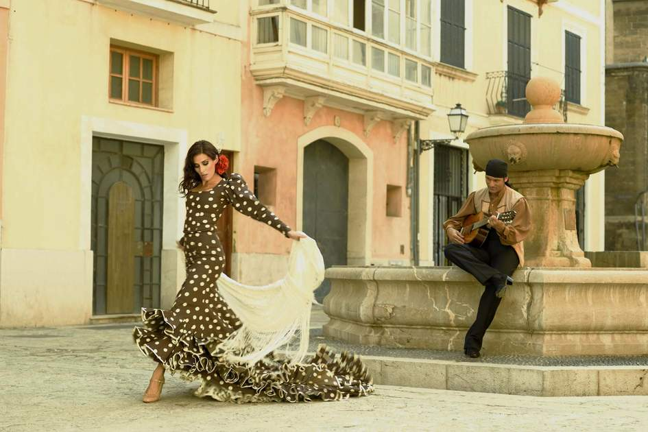 Flamenco dancing in Andalucia. Photo: Shutterstock