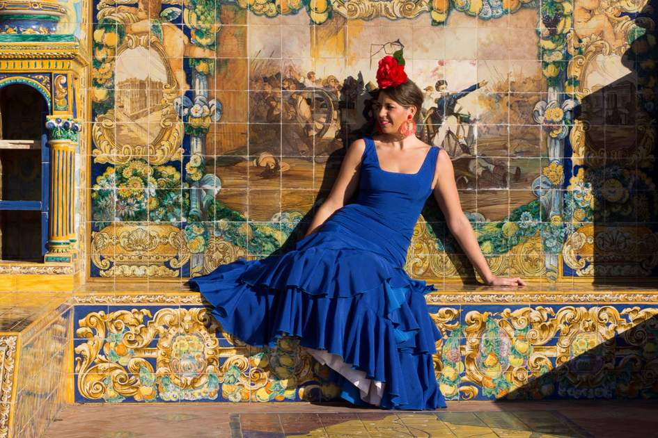 Flamenco dancer in Seville. Photo: Shutterstock