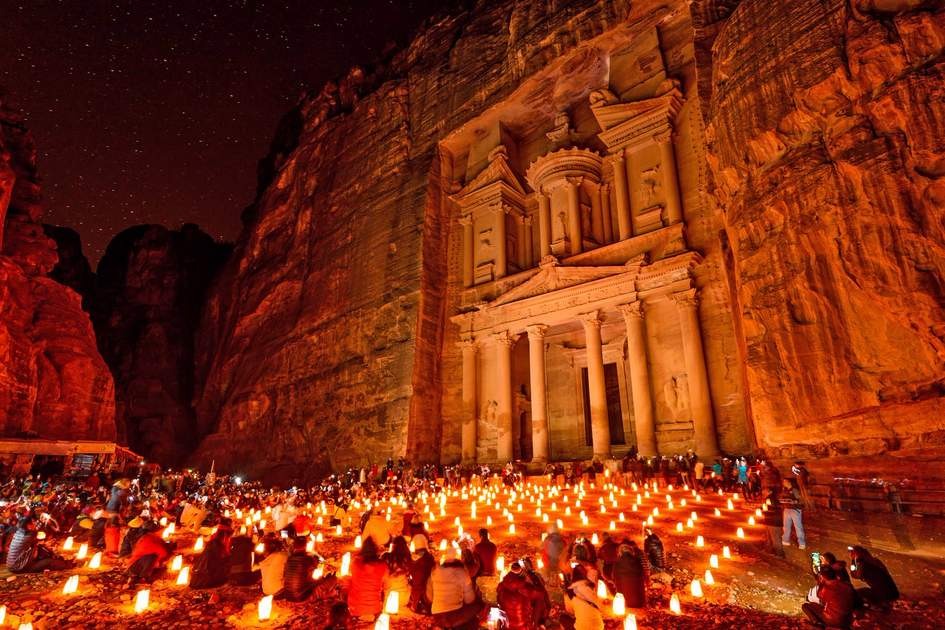 The Petra by Night experience. Photo: Shutterstock