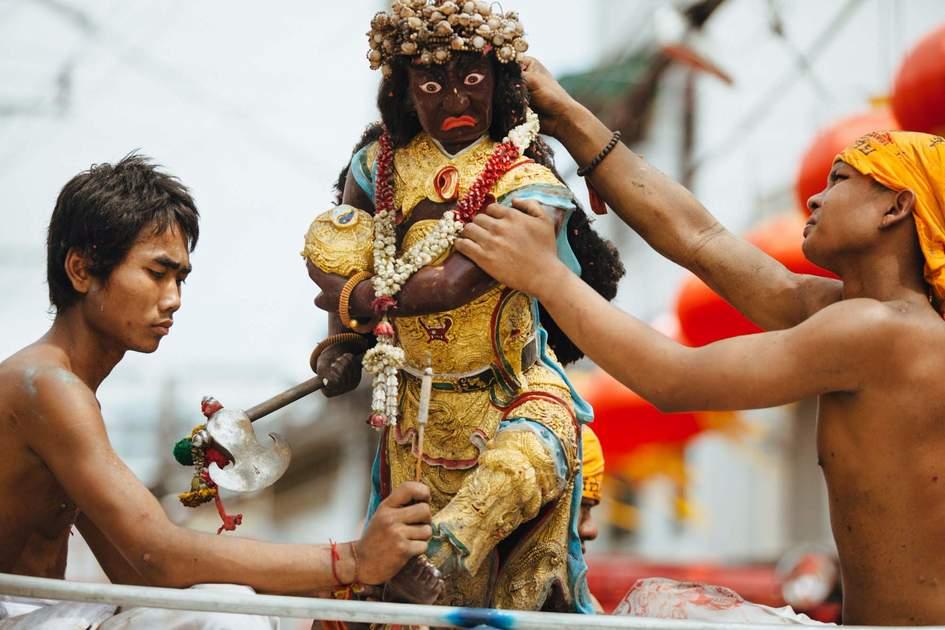 Vegetarian Festival in Phuket. Photo: Shutterstock