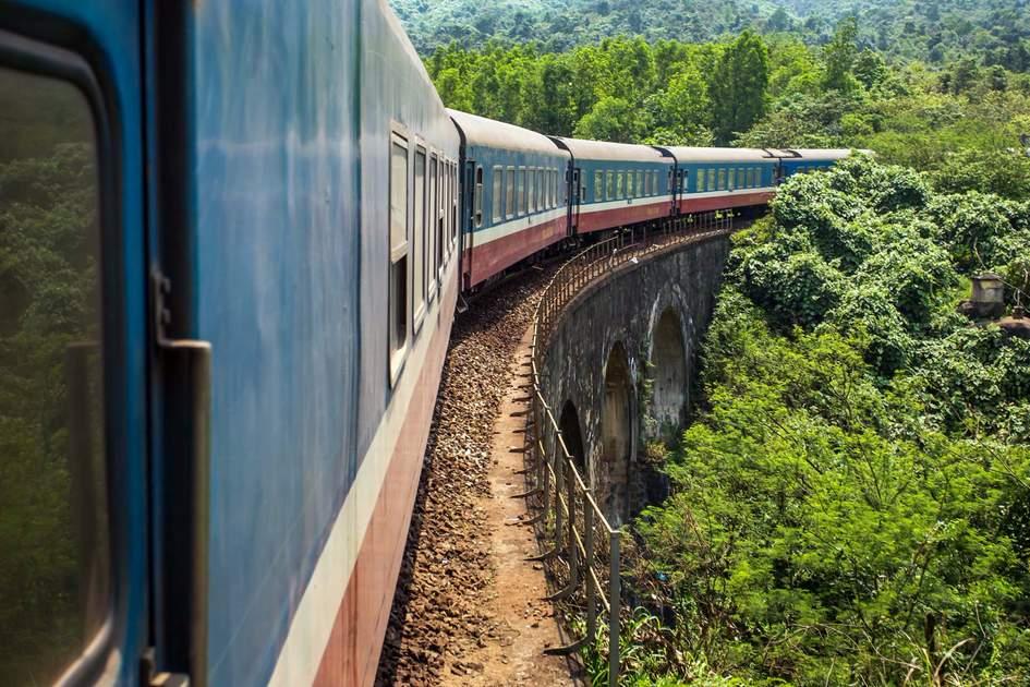 Vietnam train. Photo: Shutterstock