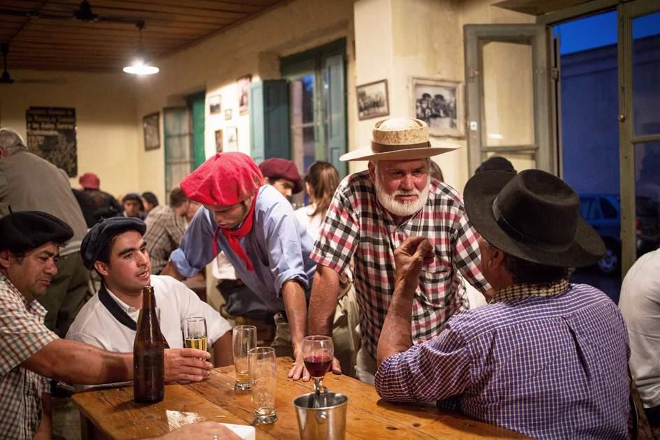 Gauchos en Fiesta de la Tradicion in San Antonio de Areco, Buenos Aires