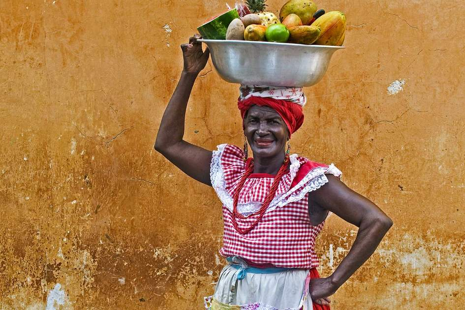 Fruit-seller in Cartagena. Photo: Shutterstock