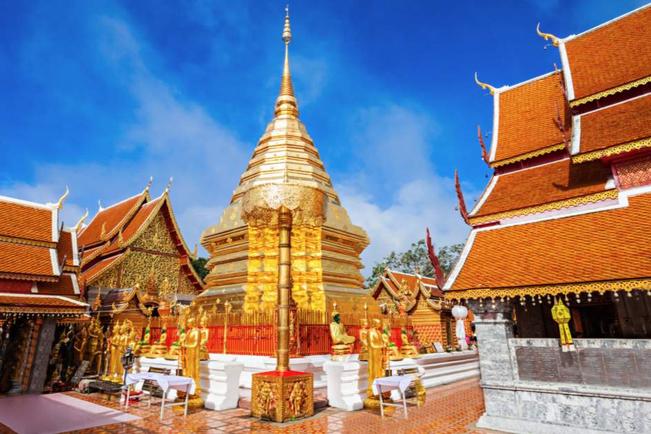 Wat Phra That Doi Suthep is a must-see on your trip to Chiang Mai