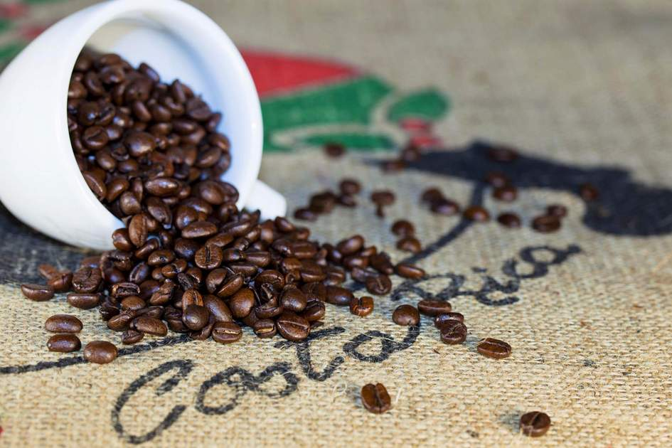 Costa Rican  coffee beans. Photo: Shutterstock
