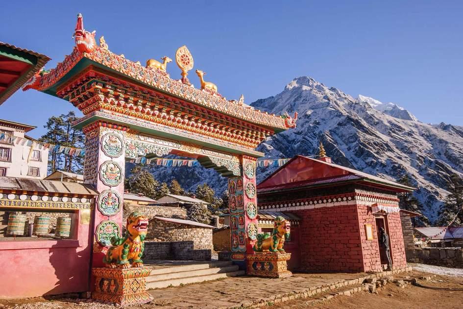 Thyangboche monastery, Nepal
